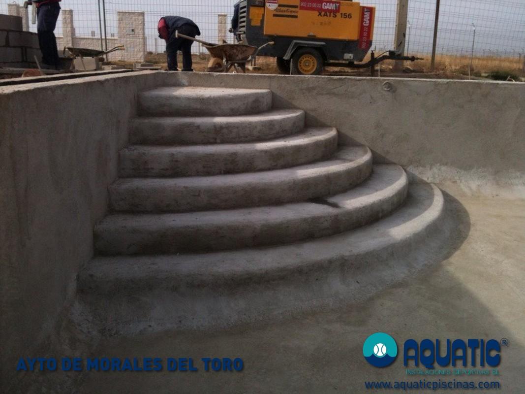Ayto de morales del toro aquatic piscinas for Piscinas toro